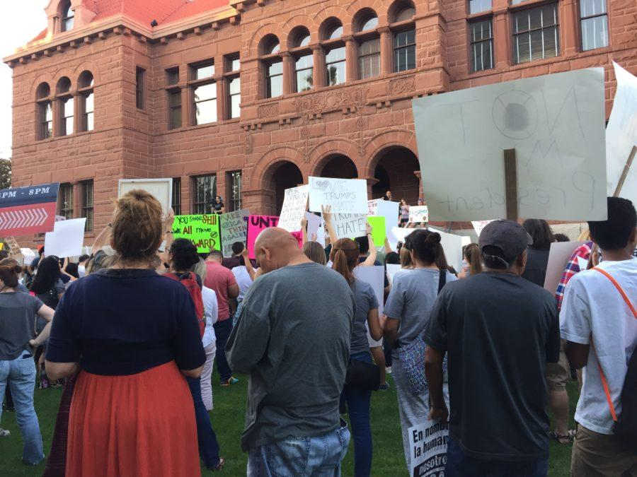 Local Residents Rally in the Streets of Santa Ana