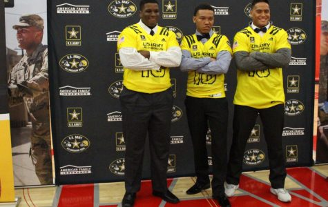 US Army selects three varsity football players to play in All-American game