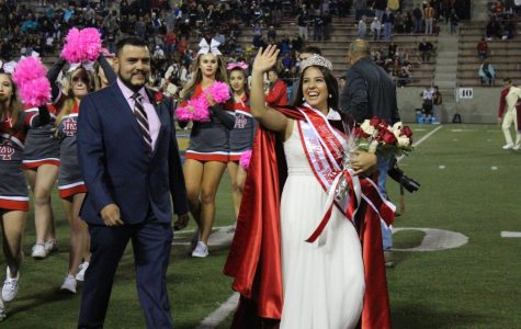 Band drum major chosen as Homecoming queen
