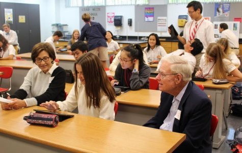 MD grandparents experience the magic of Mater Dei at semi-annual Grandparents' Day