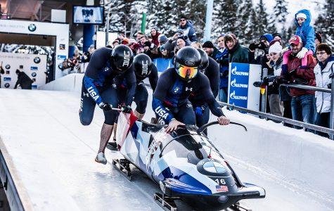 Carlo Valdes and his teammates prepare to compete.