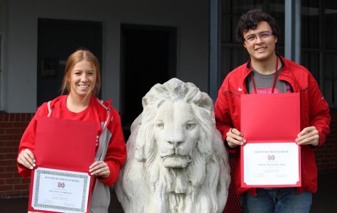May Monarchs of the Month: Aidan Mulholland and Kelsey Campeau