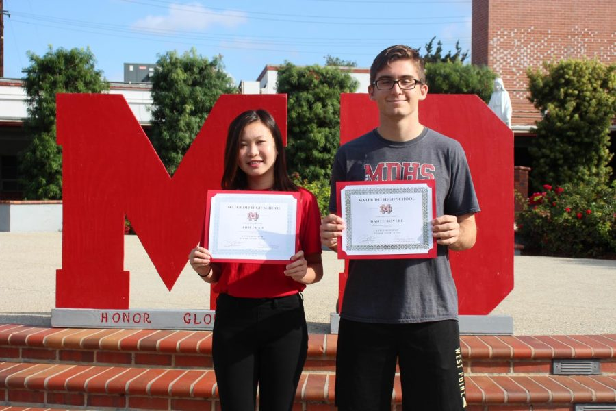 October Monarchs of the Month: Stacy Phan and Dante Rovere