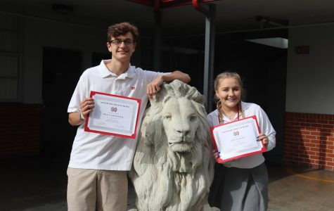 September Monarchs of the Month: Lily Schuda and Nick Van Dalsem