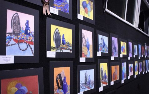 Annual art showcase exhibits student-made work of all mediums