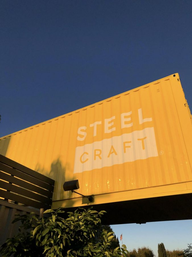 REPURPOSED: Steelcraft, Orange County's newest food hall, is located in Garden Grove. The space is made up of various shipping containers that are home to unique dining establishments.