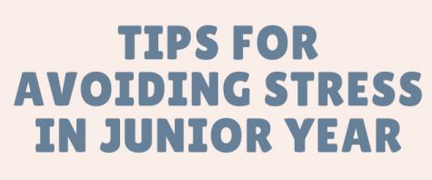Avoid stress during junior year through resources, communication