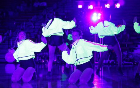 New All-Female Hip-Hop Dance Team makes debut at night rally