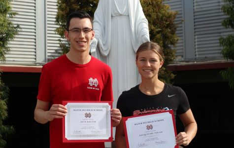 March Monarchs of the Month: Jacqueline Yocam and Jack Maguin