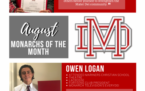 August 2020 Monarch of the Month: Kailia Utley and Owen Logan