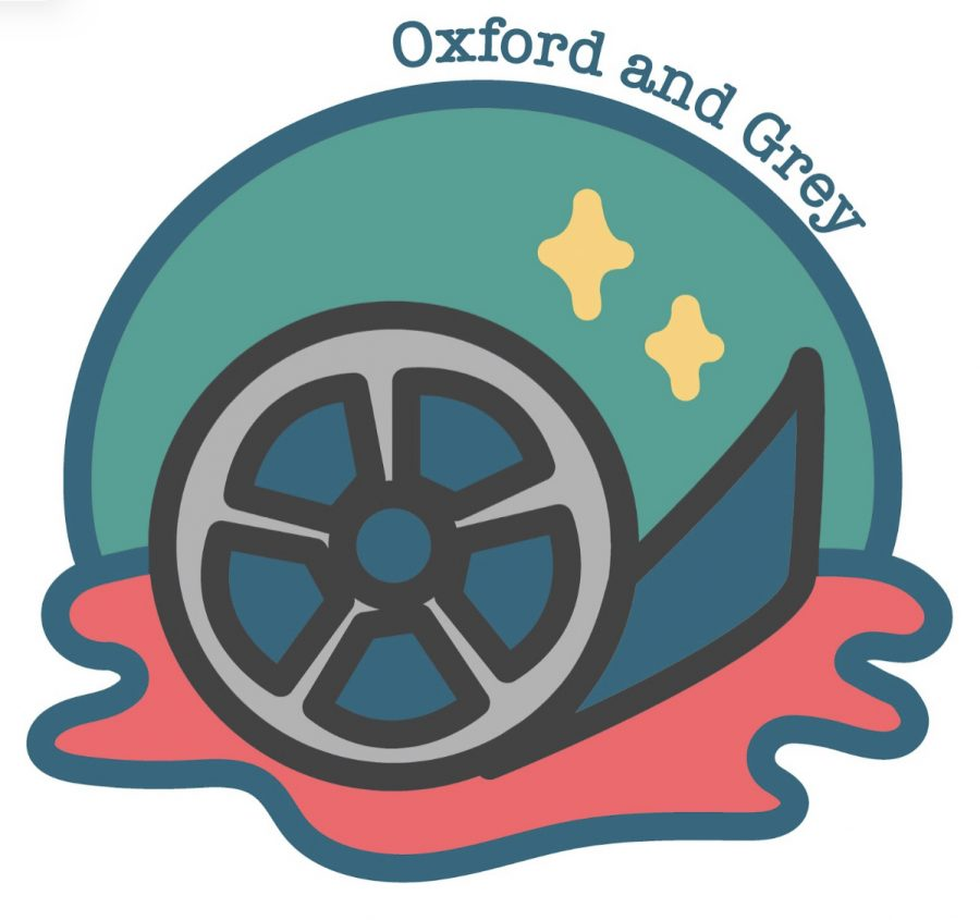 This is the logo for the 'Oxford and Grey' production team.