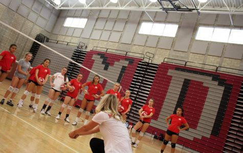 Frosh/soph girls volleyball prepares for a difficult season ahead