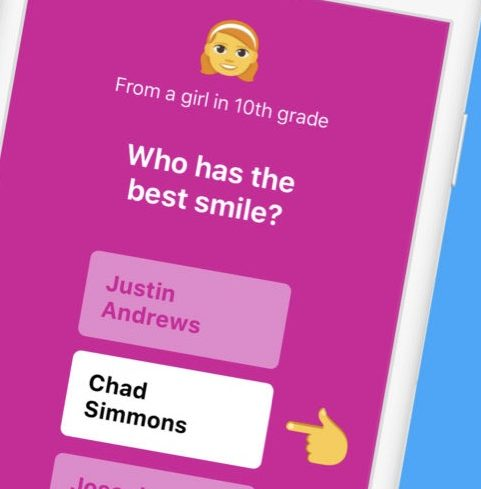 tbh app hopes to promote positivity through anonymous polls
