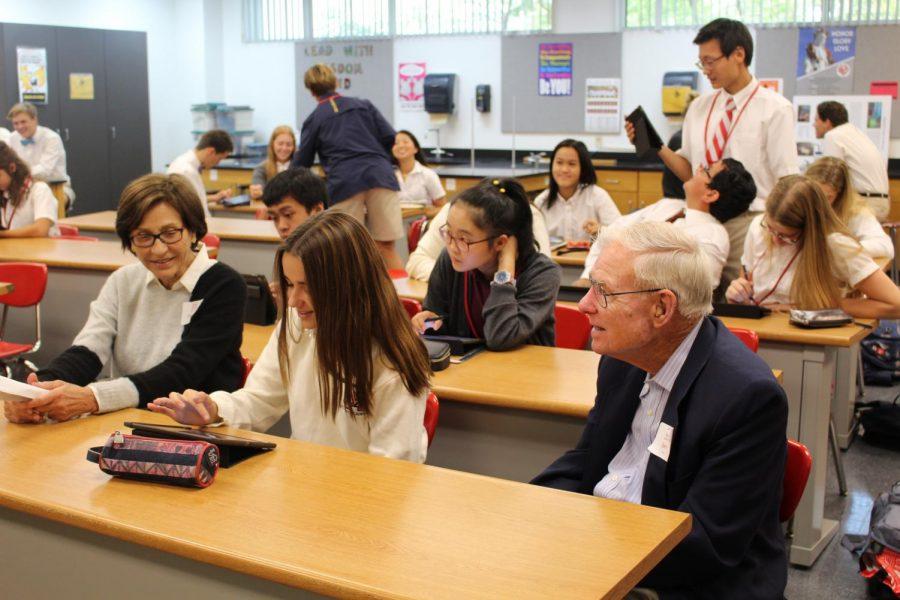 MD grandparents experience the magic of Mater Dei at semi-annual Grandparents' Day