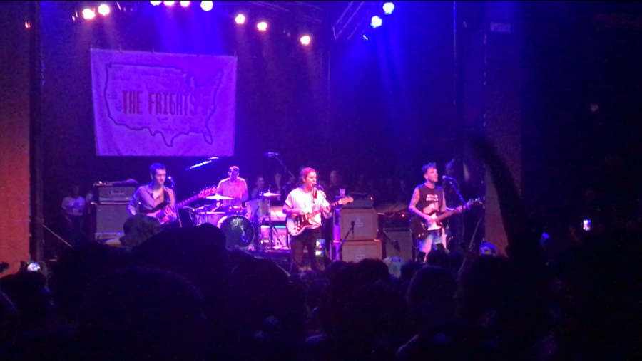 The Frights perform at The Observatory