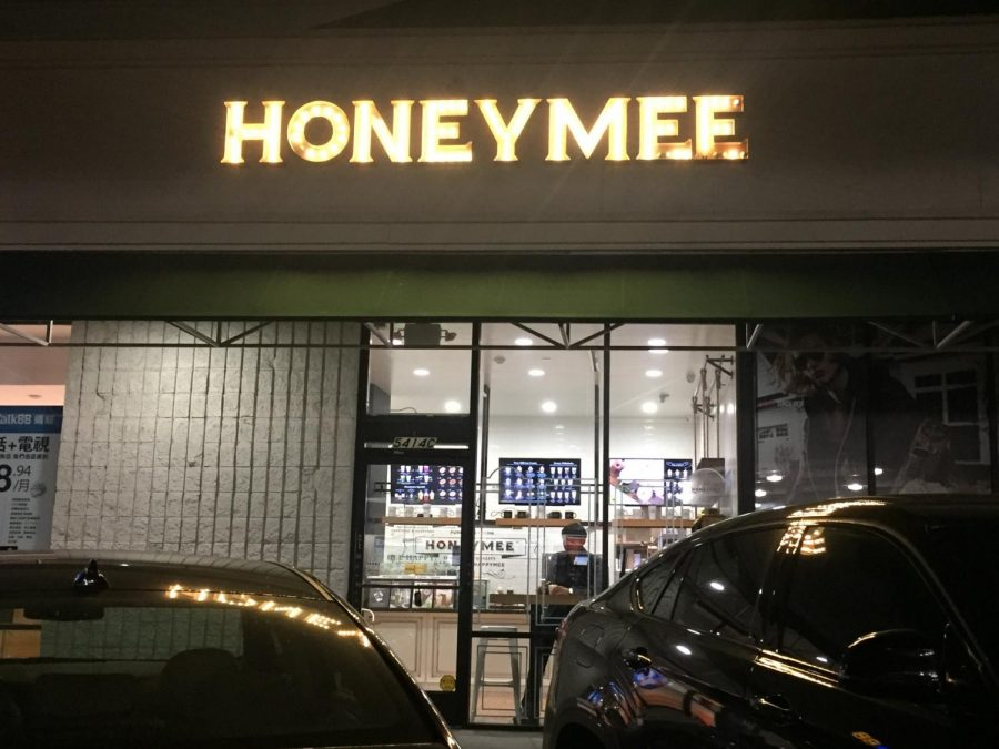Honeymee is located at 17595 Harvard Ave, Ste E, Irvine, CA 92614 and is open from 11:00 am to 11:00 pm.