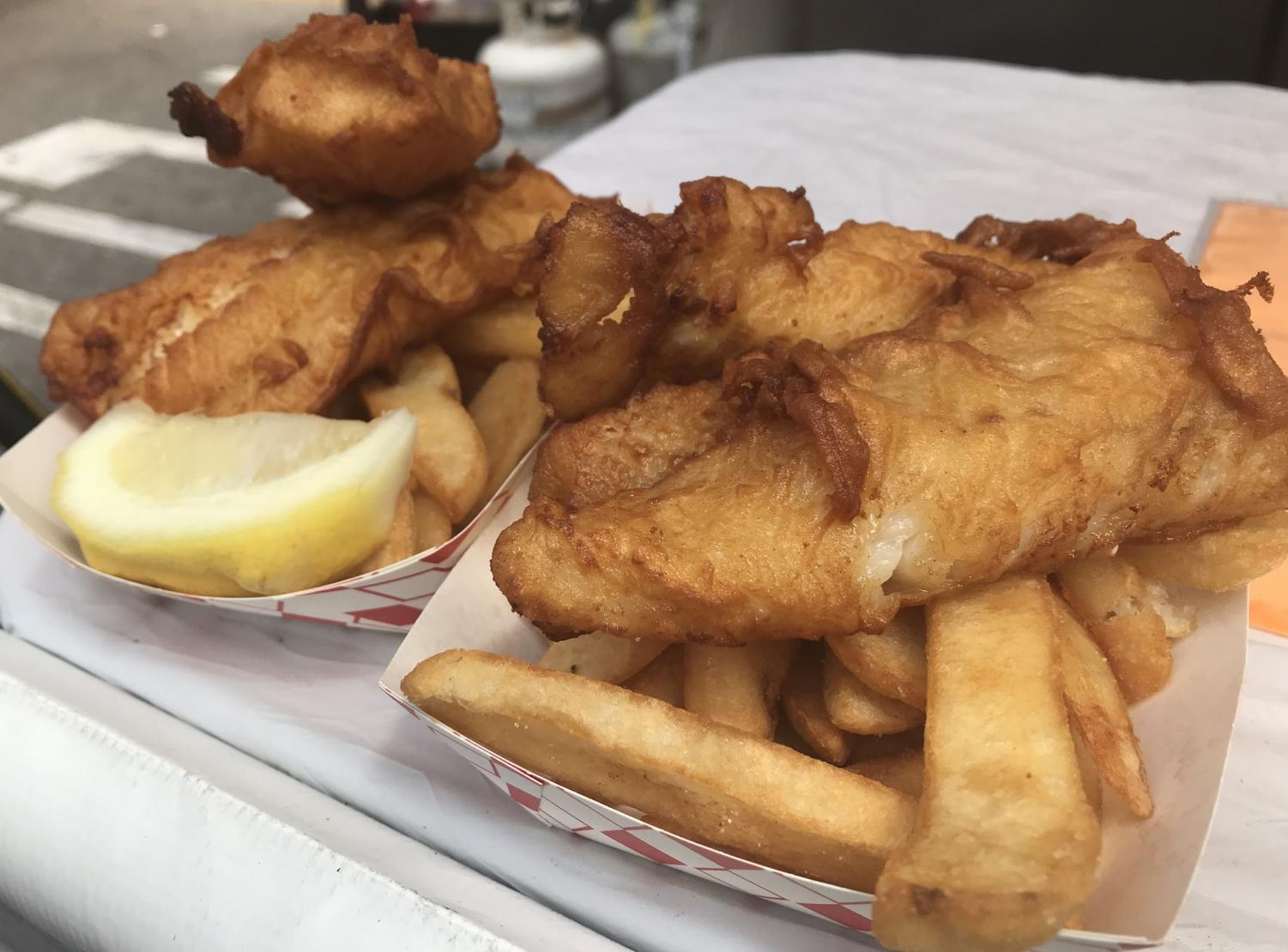CATCH+OF+THE+DAY%3A+Britain%E2%80%99s+fish+and+chips+is+senior+Charlene+Pham%E2%80%99s+favorite+dish+at+the+event.%0A%E2%80%9CI+felt+a+great+appreciation+for+the+diversity+and+culture+included+in+the+Orange+International+Street+Fair.+Seeing+all+the+roads+of+cultural+foods+made+me+proud+to+be+a+citizen+of+Orange+County%2C%E2%80%9D+Pham+said.+