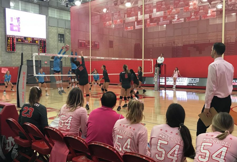 Girls volleyball team leads with domination on the court, moves toward CIF finals
