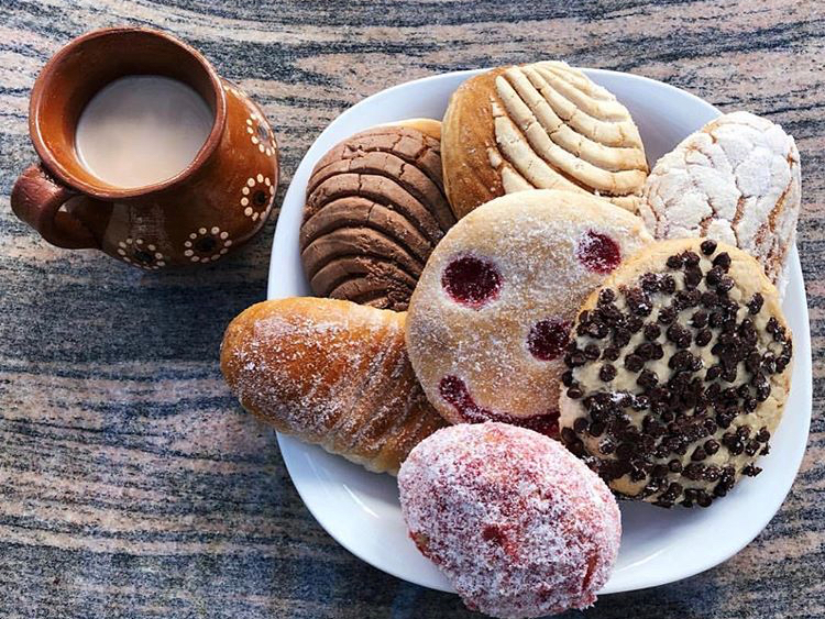 At Victoria's Bakery in Santa Ana, customers can indulge in vegan breads, empanadas, conchas, besos and cookies, in addition to traditional Mexican baked goods.
