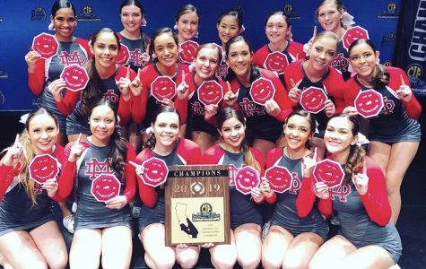 Cheer team wins first ever CIF SS Championship