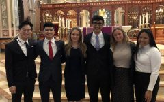 Students lobby in state capital for the Catholic Church