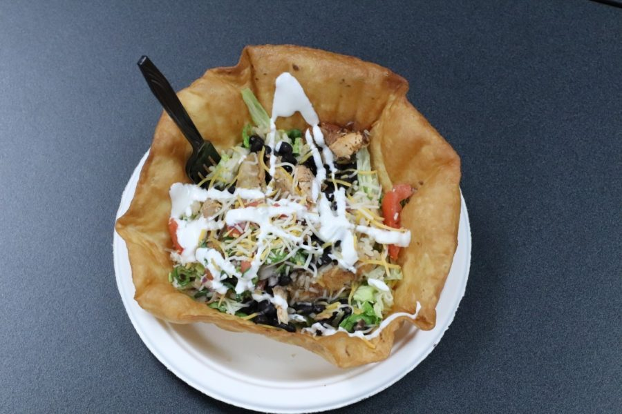 TASTY TOSTADA: One of the new