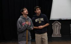 Diviners cast prepares for tragic, symbolic performance