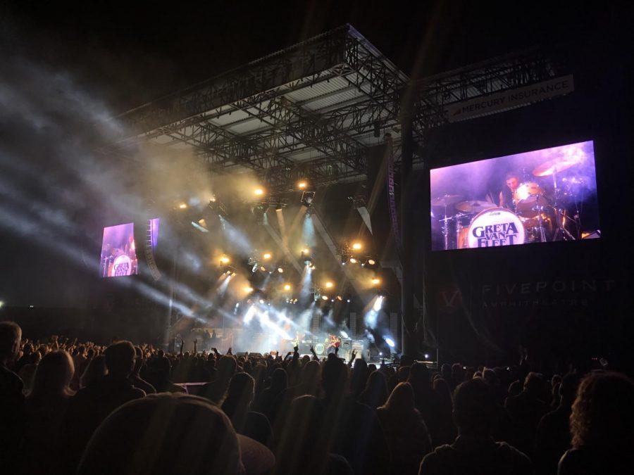 Music fans enjoy FivePoint Amphitheatre