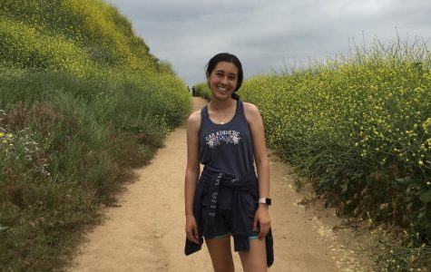"BREATH OF FRESH AIR: Junior Emma Zuniga hikes in Peter's Canyon to keep herself from being stressed. ""To keep my mental health good I exercise everyday and go on walks with my family at night,"" Zuniga said. Hiking trails in California are starting to open up again, allowing for more opportunities to spend time outside."