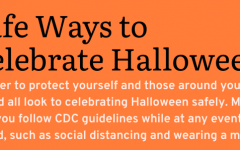 SAFELY SPOOKY: Traditional Halloween activities are some of the more high risk activities that are not recommended by the CDC. Trick-or-treating, haunted houses, and costume parties are all included in the high risk activities and should be avoided this holiday season, but students can still stay in the Halloween spirit.
