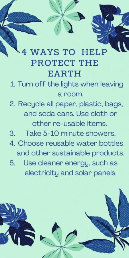 Ways to protect the earth