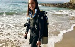 READY SET GO: Chloe-Mei Espinosa sees the effects of plastic in our oceans firsthand through her many scuba diving adventures. The harmful impact that single-use plastics have on the environment are what caused Espinosa to launch her campaign, Skip the Plastic Straw.