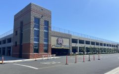 """""""Four acres, three stories, and 990 parking spots,"""" The Mater Dei parking structure was opened in Fall 2019 for use by the entire school."""